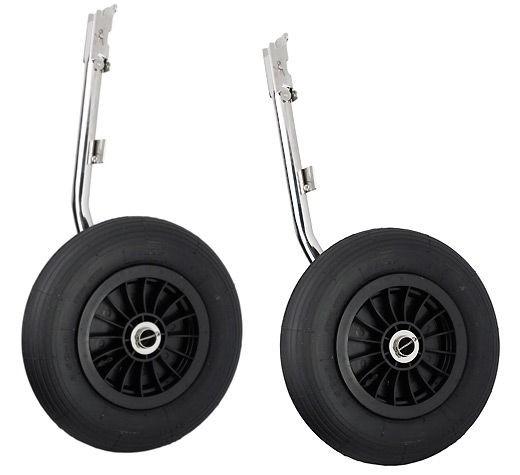 020314RS  колеса транцевые Homer для надувной лодки, 350 мм (комплект)