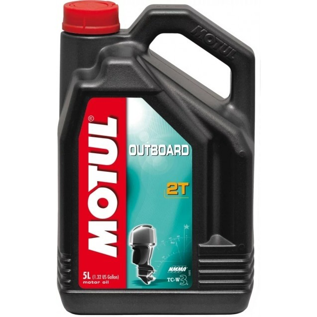 101734 Outboard 2T 5л MOTUL масло моторное