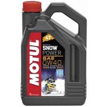 105892 Snowpower 4T 0w40 4л MOTUL масло моторное