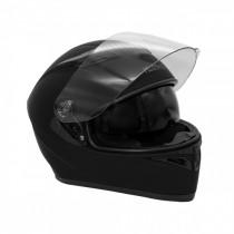 Шлем KIOSHI AVATAR интеграл с очками (черный матовый p-p L)