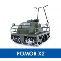 Мотобуксировщик POMOR Х2 К-15