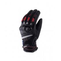 Мотоперчатки Masontex M37D (черный/красный XL)