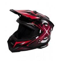 Шлем KIOSHI Heleshot 801 кроссовый, Красный (L)