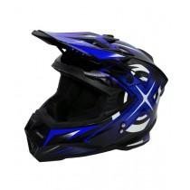Шлем KIOSHI Heleshot 801 кроссовый Синий (S)