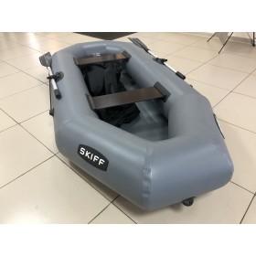 """Лодка ПВХ """"Skiff-260"""" гребная 2-местная (серая)"""
