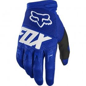 Перчатки FOX Blue/hite (L)