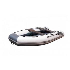 """Лодка ПВХ """"Хатанга-290"""" НДНД (серая-двухцветная)"""