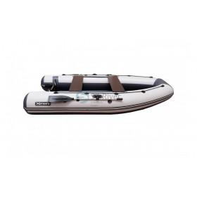 """Лодка ПВХ """"Хатанга PRO-360"""" НДНД (серая-двухцветная)"""